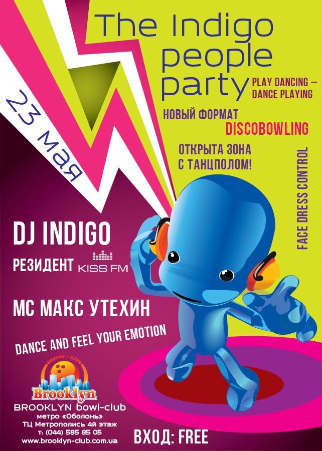 Indigo party 23/05